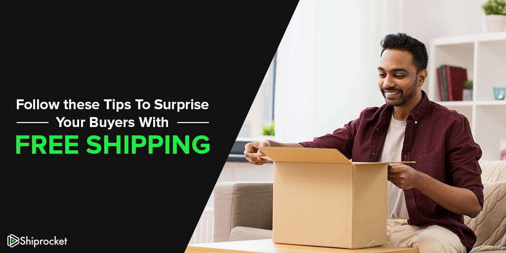 How can you offer free shipping to your buyers
