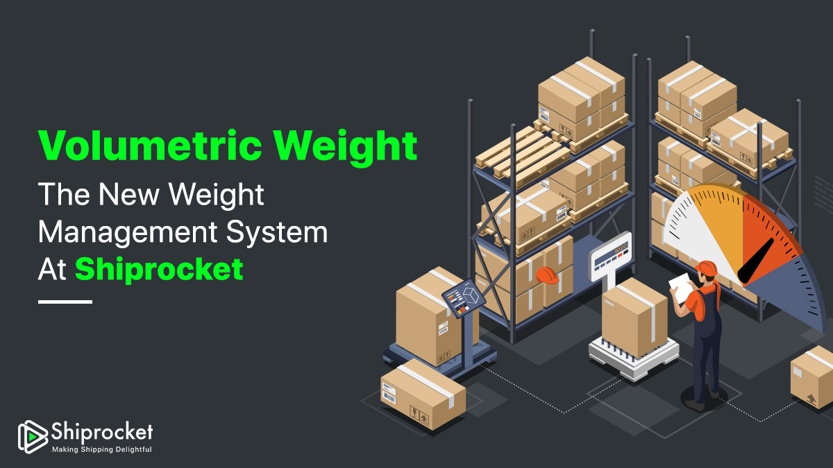 Applied weight eCommerce Shiprocket