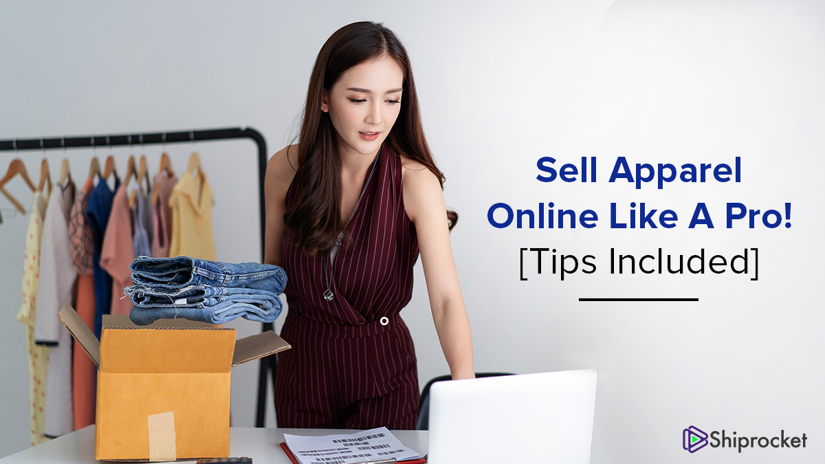 How can sellers ship apparel effectively online