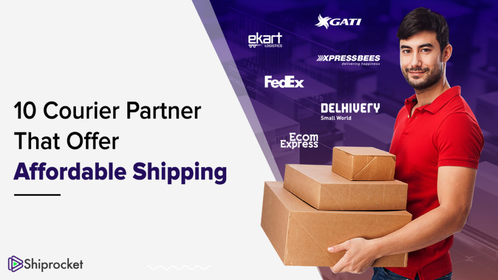10 courier services for cheapest shipping in India
