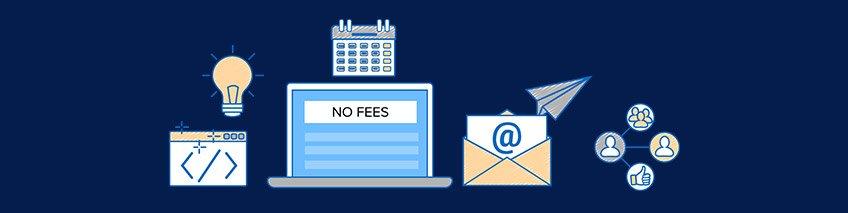 No Monthly or Setup Fees - ShipRocket