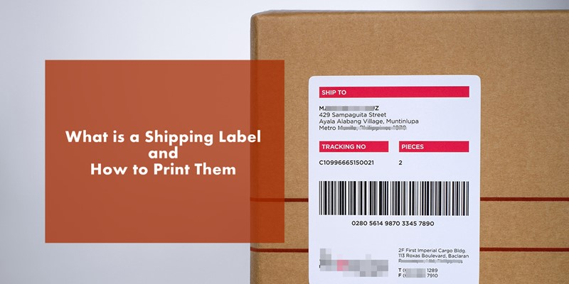 What is Shipping Label - Print it Automatically