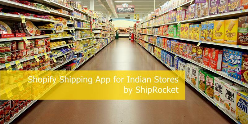 Shopify शिपिंग इंडिया ऐप