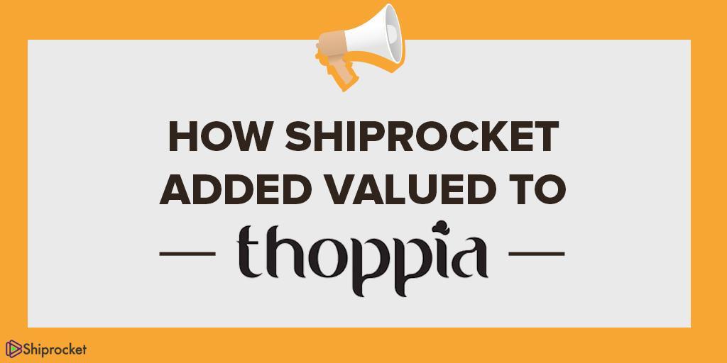 थोपिया - शिपिंग प्रदाता शिप्रॉक
