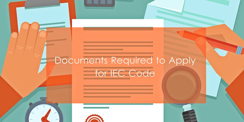 Documents Required for IEC Code India
