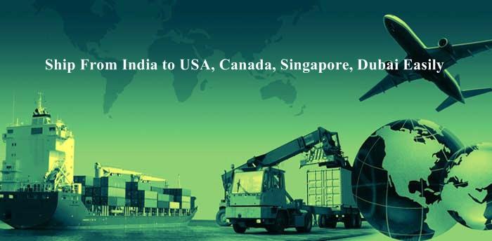 भारत से अमरीका, कनाडा, सिंगापुर, दुबई के लिए जहाज