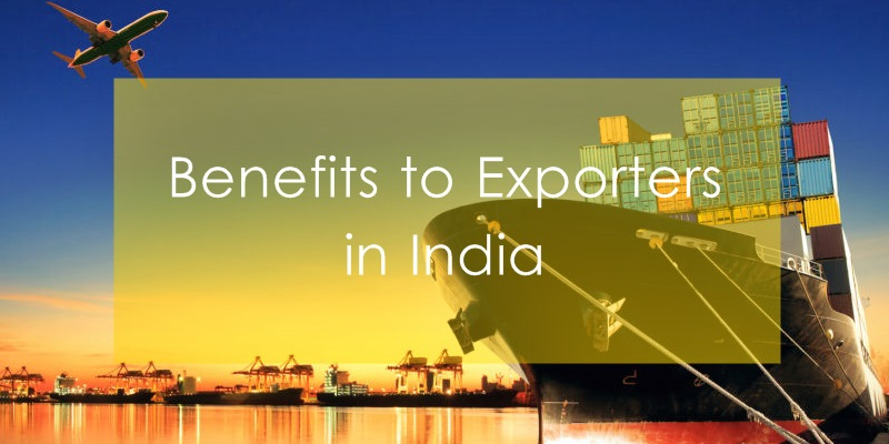 Export Incentive Schemes and Benefits in India