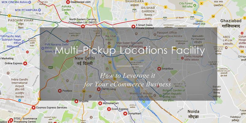 eCommerce Multi-Pickup Locations Feature