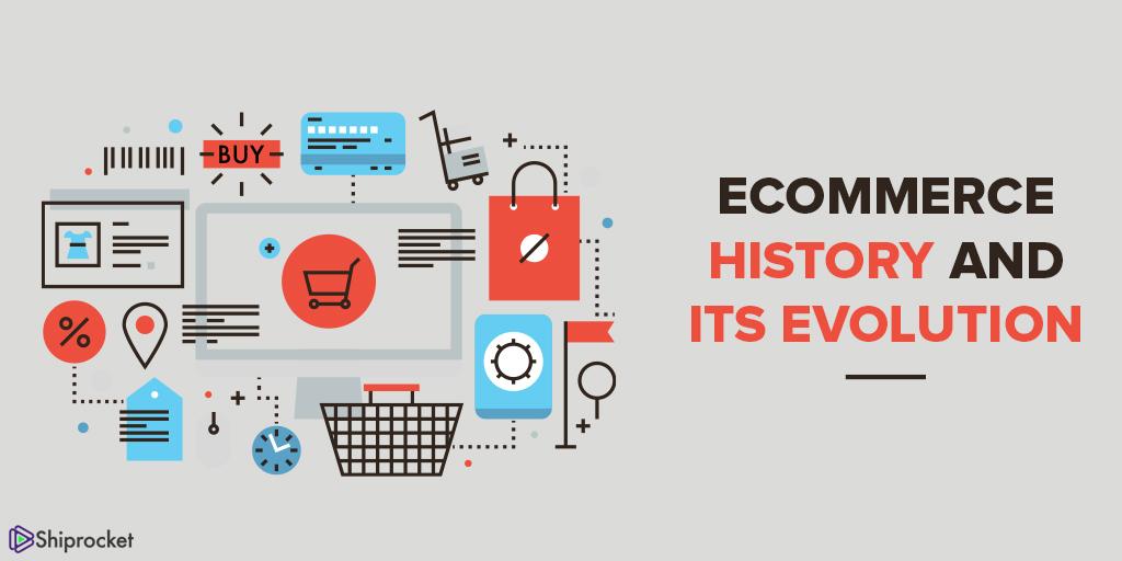 eCommerce history timeline