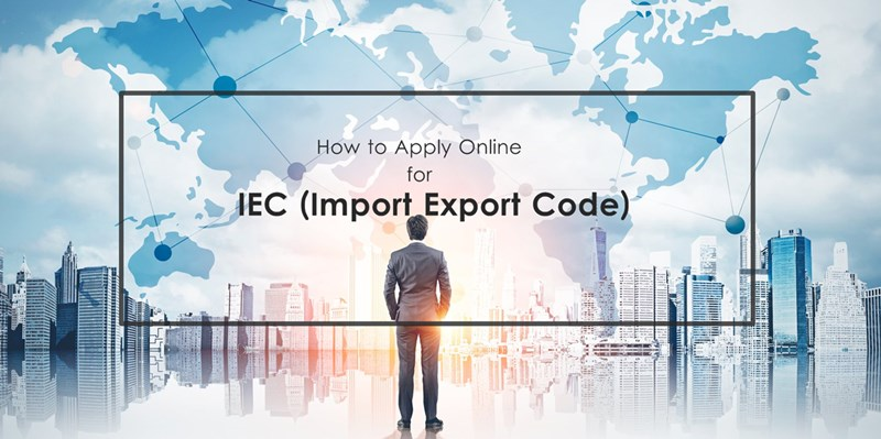 Apply IEC code online process India