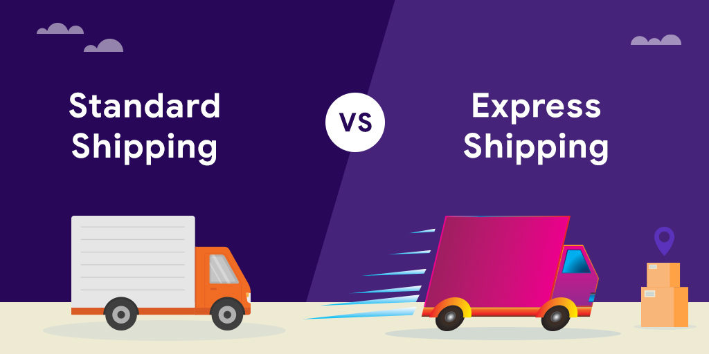 standard vs express shipping