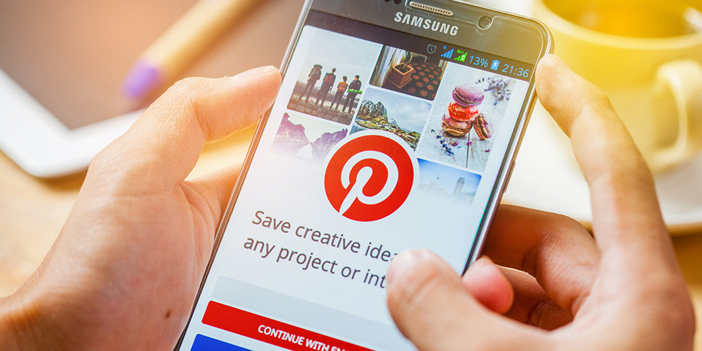 Pinterest మొబైల్ అనువర్తనం