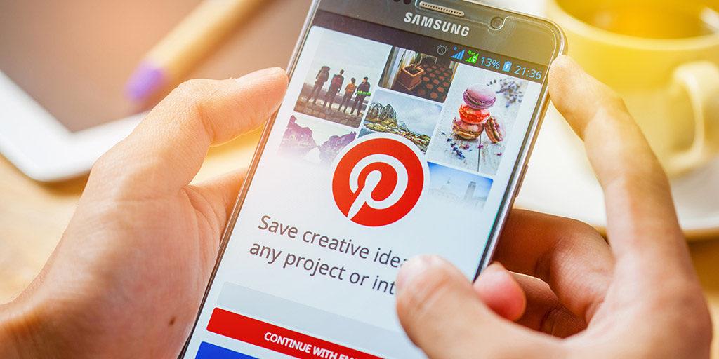 Pinterest मोबाइल ऐप