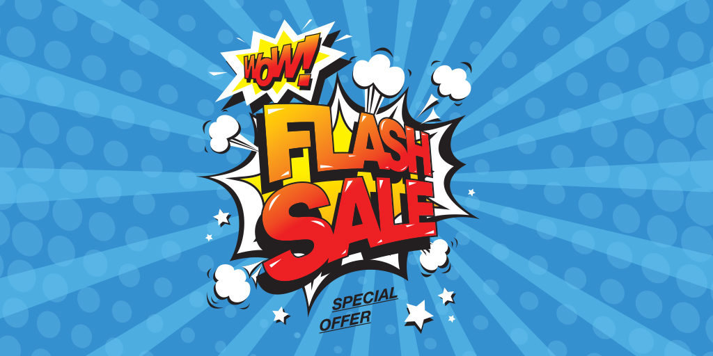 flash marketing, EOY sale