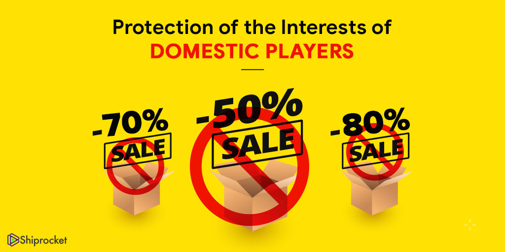 Protection of interests of domestic players