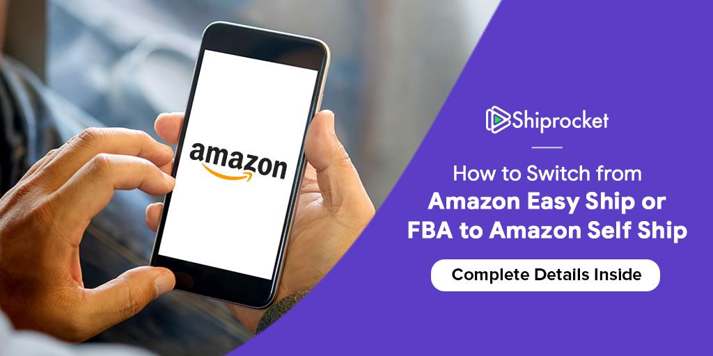 Amazon सेल्फ शिप शिपिंग मॉडल में कैसे जाएँ
