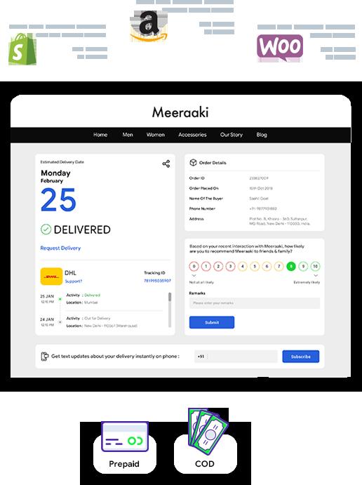 Bluedart Carrier/Courier Integration & Courier Services