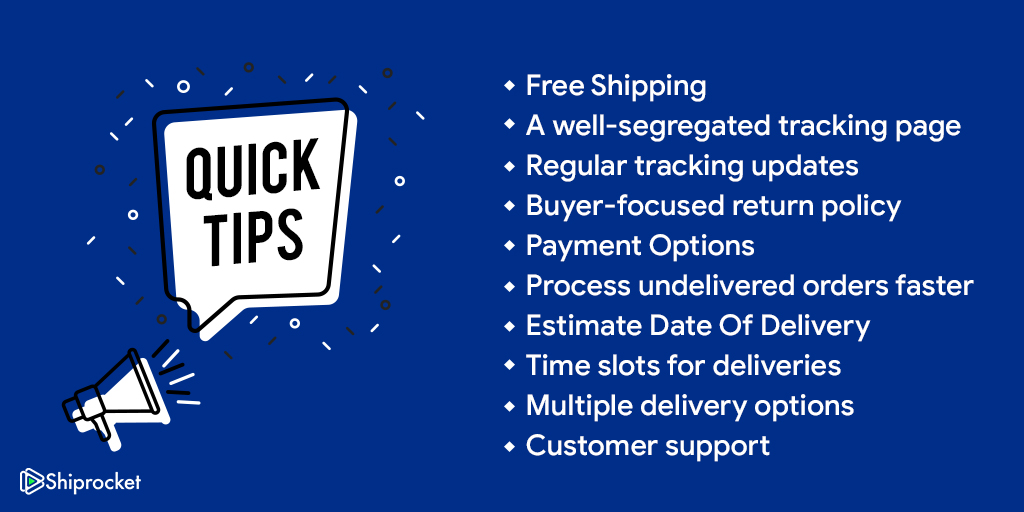 Tricks to improve shipping for customers