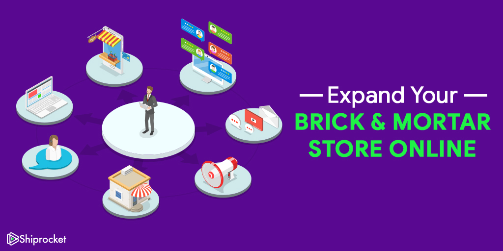 Steps for bringing brick & mortar store online