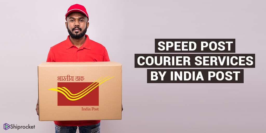 Speed post courier by India Post