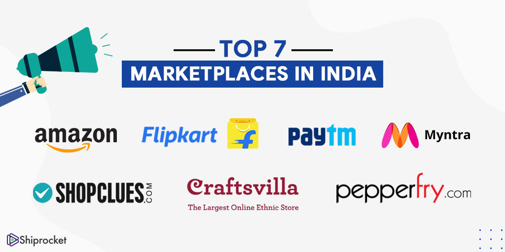 top 7 marketplaces in india