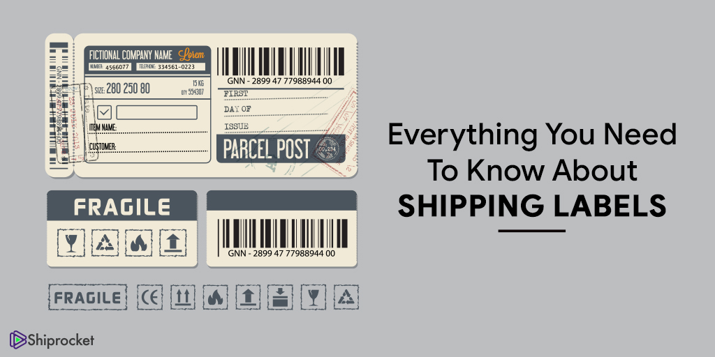 Understand shipping labels for eCommerce