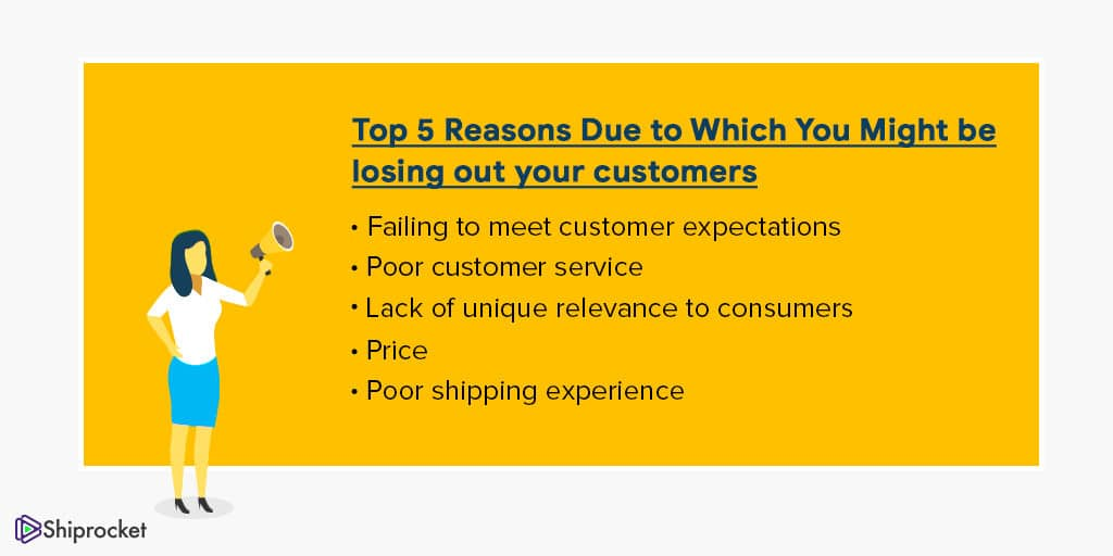 Reasons due to which you might be losing out your customers