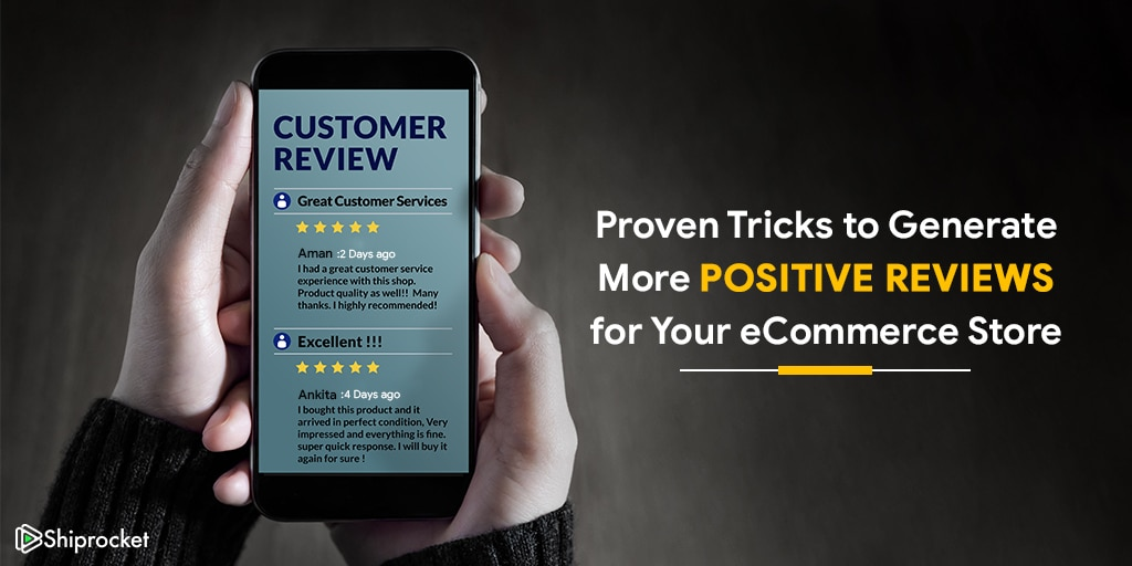 Proven tricks for more positive reviews