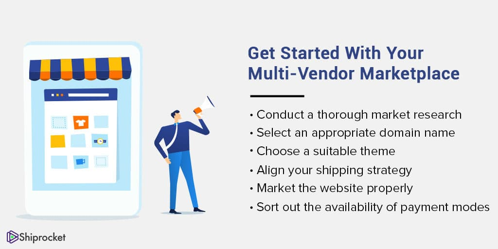 getting started with a multi vendor marketplace