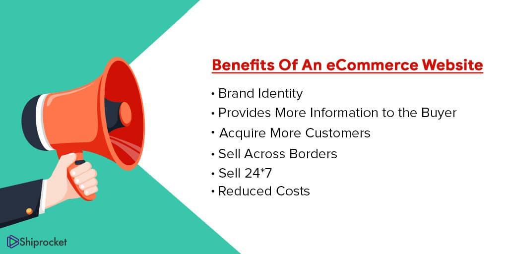 Advantages of an eCommerce website