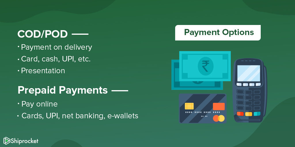 Multiple payment modes