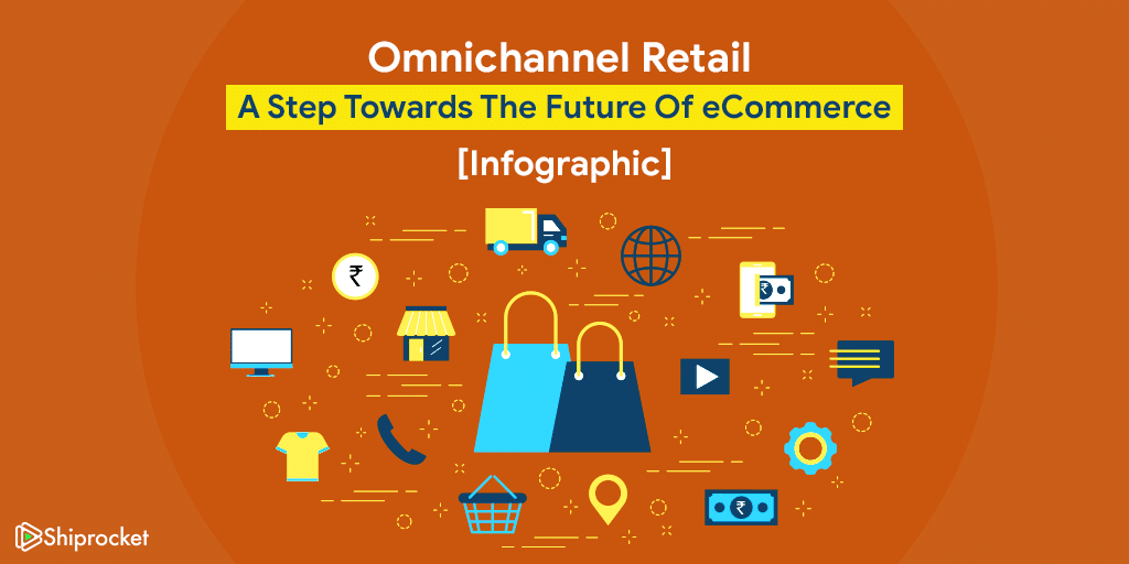 infographic showing the specifics about omnichannel retail
