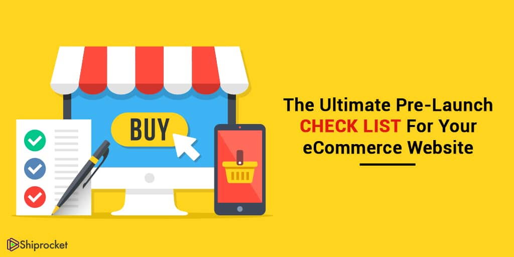 things to double check before launching an eCommerce website