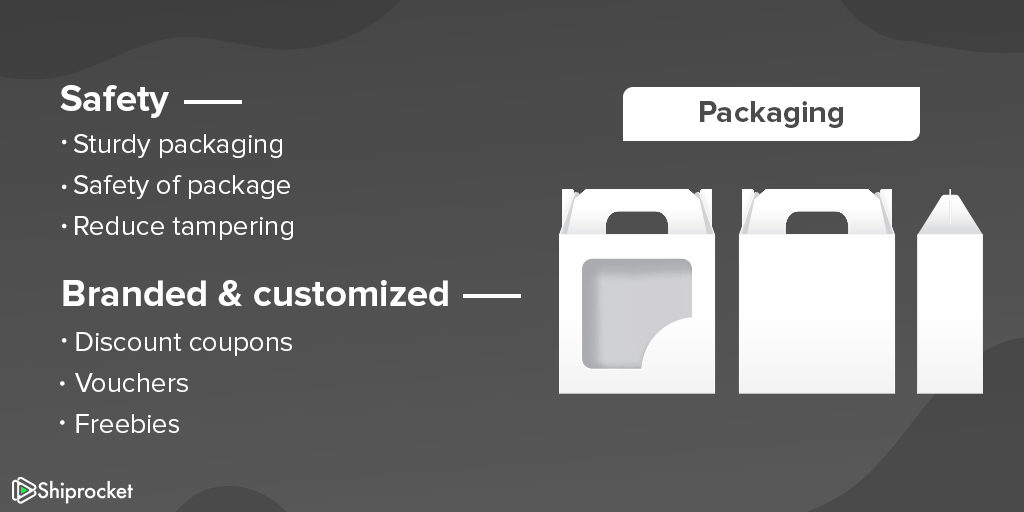 Improve the packaging of your products