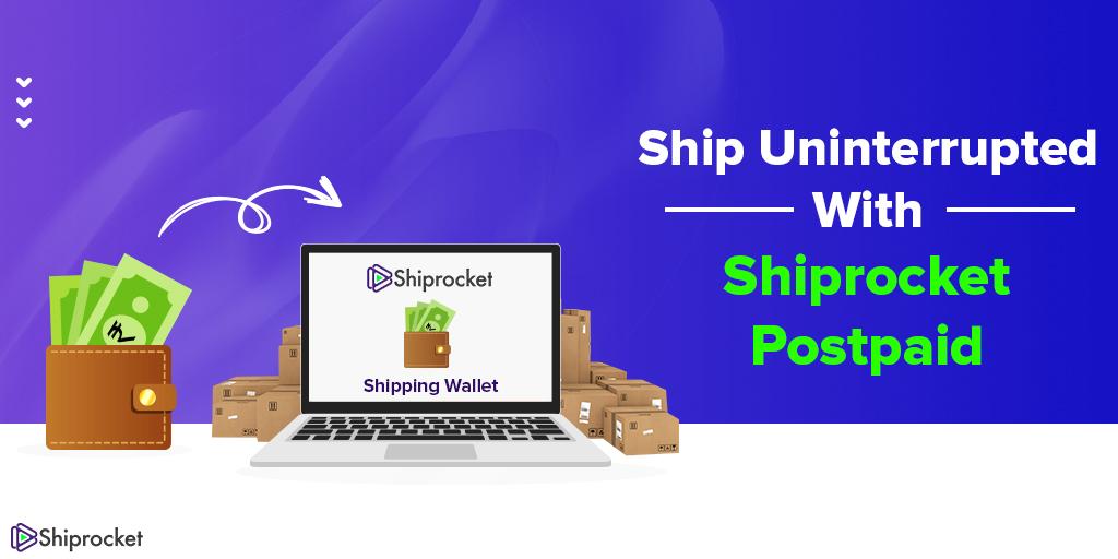 Shiprocket's postpaid plan