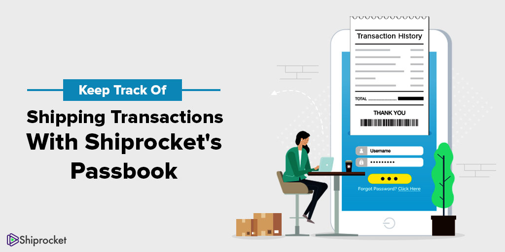 Stay updated with transactions using Shiprocket passbook