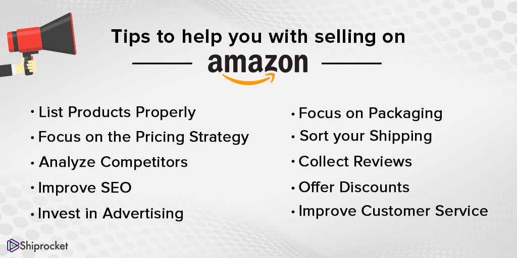 Actionable tips for selling on Amazon