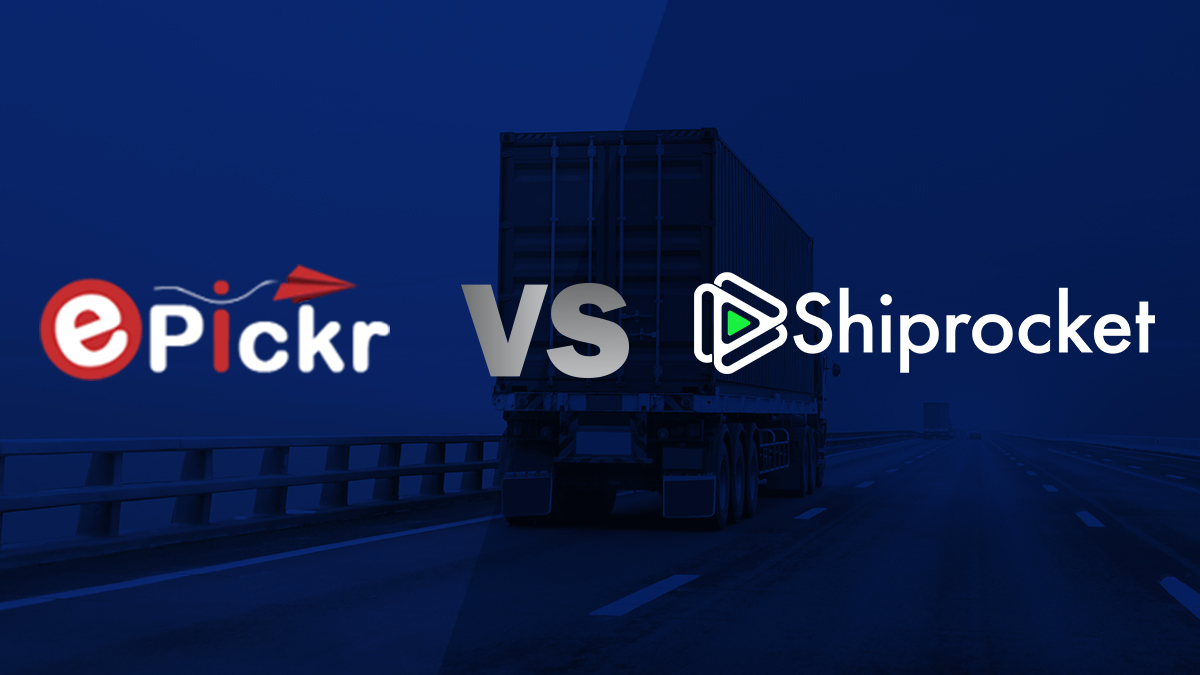 Comparison between Shiprocket and ePickr
