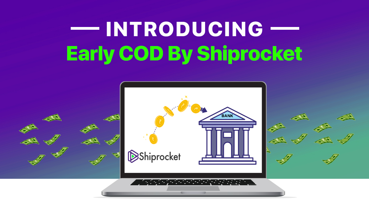 early cash on delivery service by Shiprocket