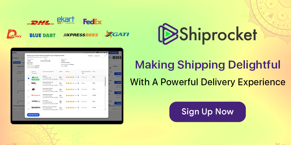 Shiprocket - India's leading shipping solution