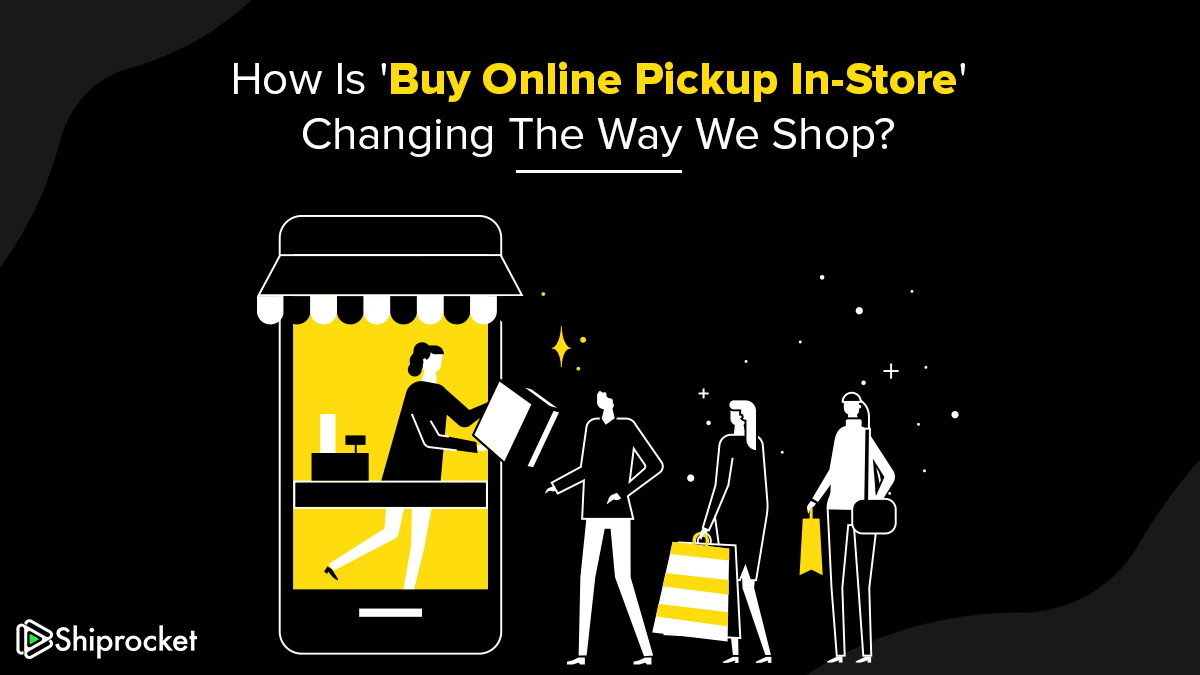 How is buy online pickup in store affecting the way we shop