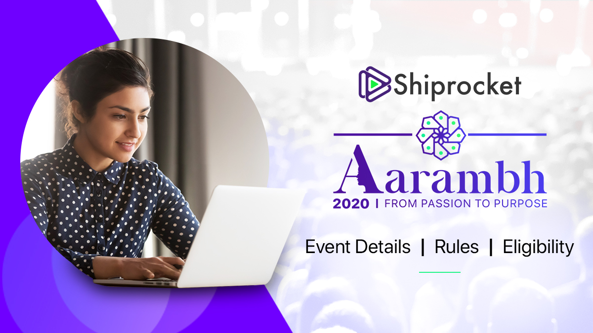 Aarambh From Passion to Purpose Shiprocket