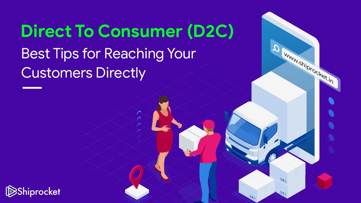D2C Direct to Consumer Model eCommerce