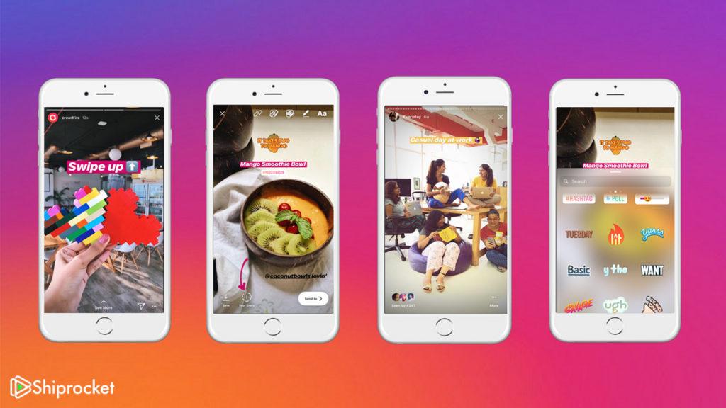 Ephemeral Content Social Shopping