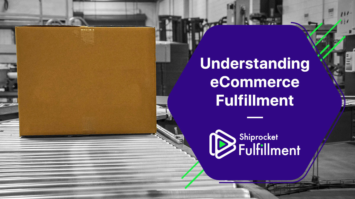understanding eCommerce fulfillment image with cardboard box