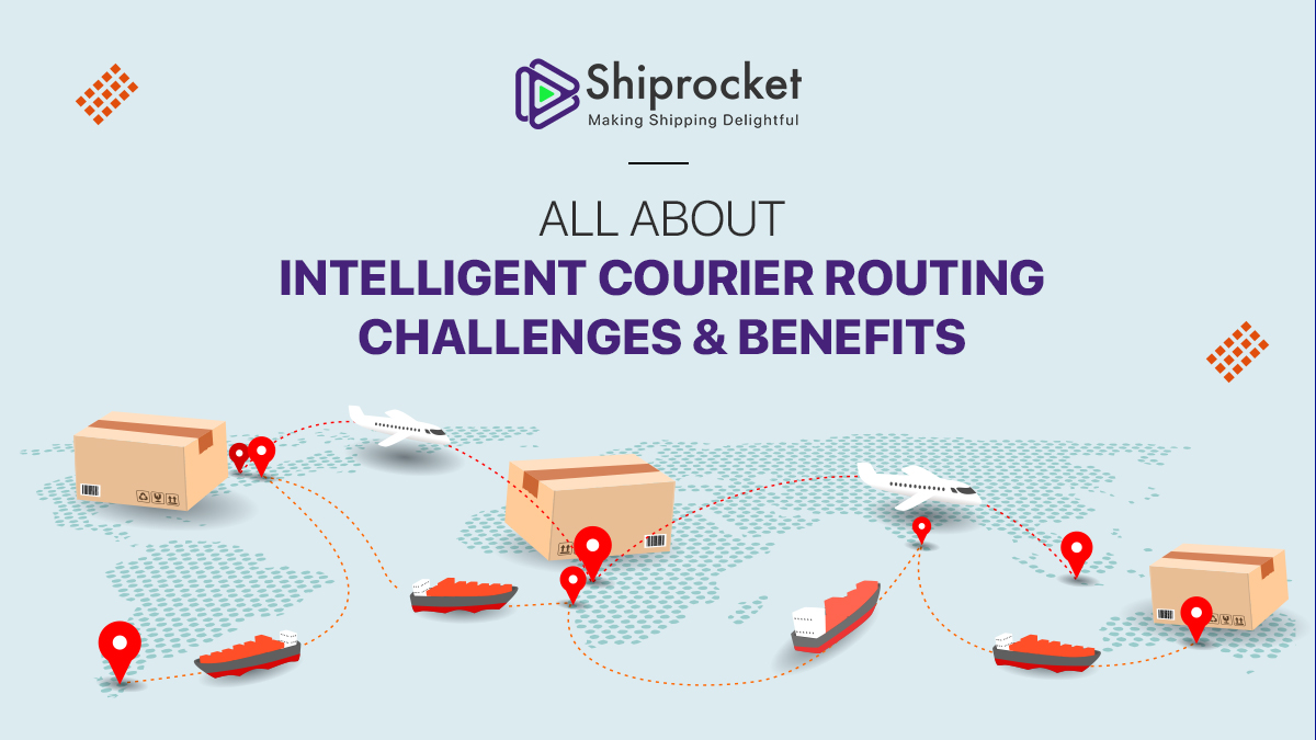 intelligent courier routing