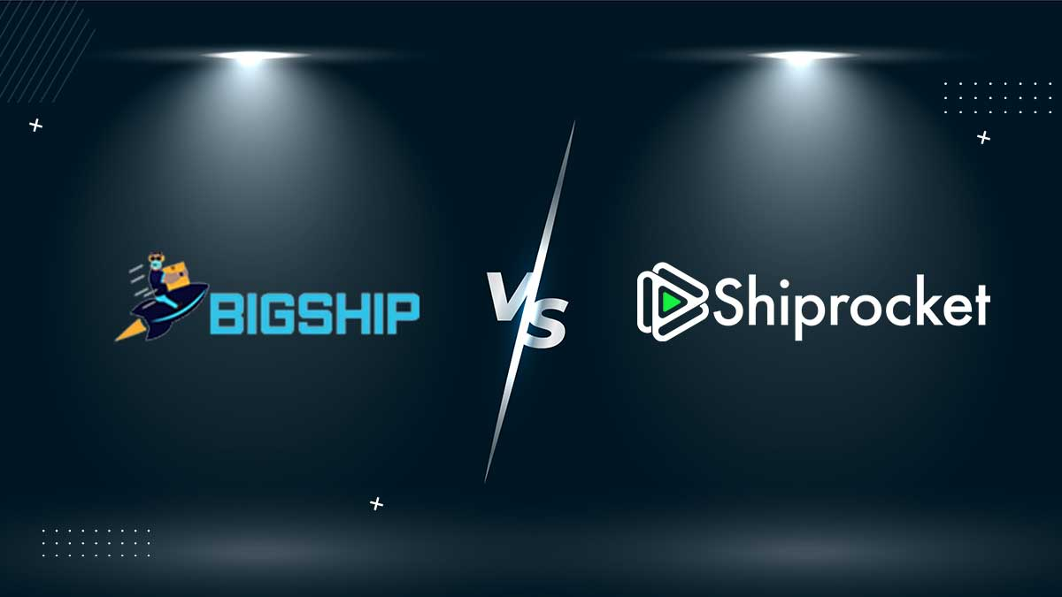 BigShip vs Shiprocket