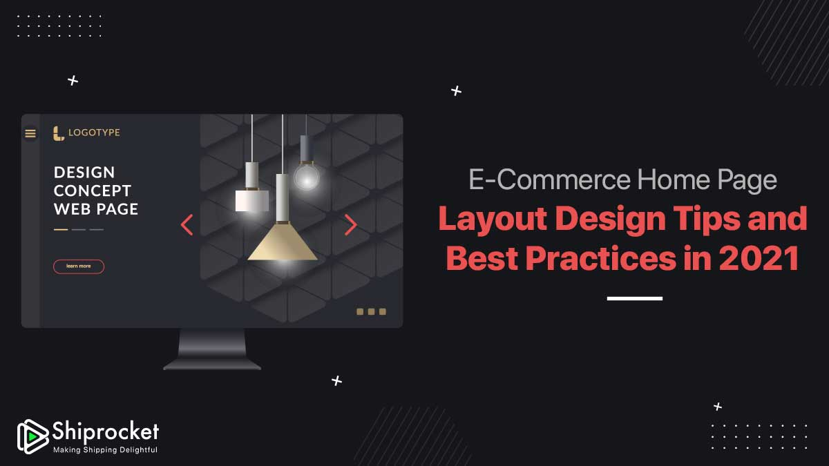 Home Page Design for eCommerce Website
