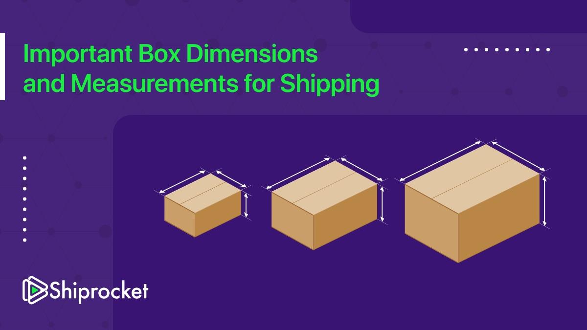 box dimensions and measurements