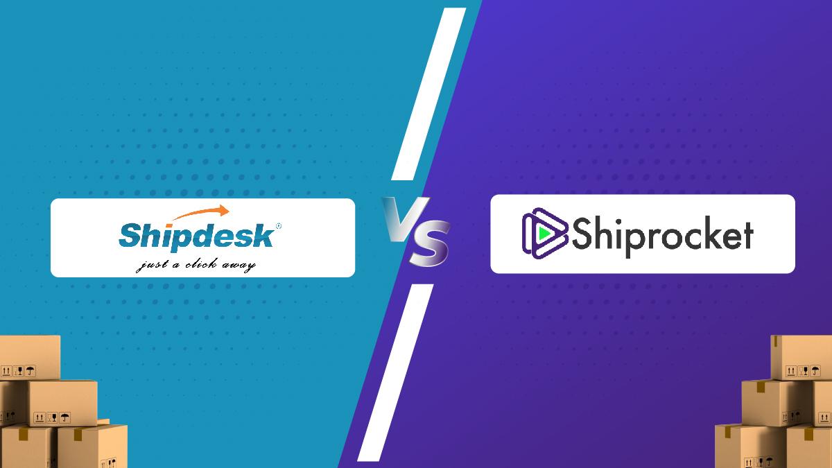 Shiprocket vs ShipDesk